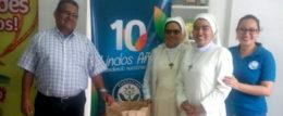 Albergues de niños huerfano recibieron leche Ceteco donada por la Fundacion Chito y Nena Kafie