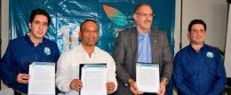 La Fundación Chito y Nena Kafie, MiAmbiente y la SAG firman convenio para mejorar el ecosistema del Golfo de Fonseca
