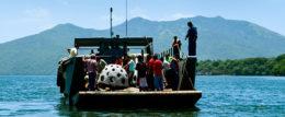 Fundación Chito y Nena Kafie lanza al Golfo de Fonseca 20 domos que se convertirán en arrecifes artificiales