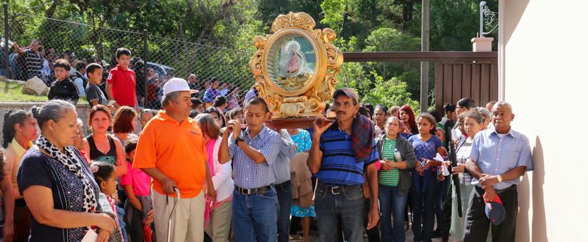 Inaugurado primer hogar de la Virgen de Suyapa - el Piliguin