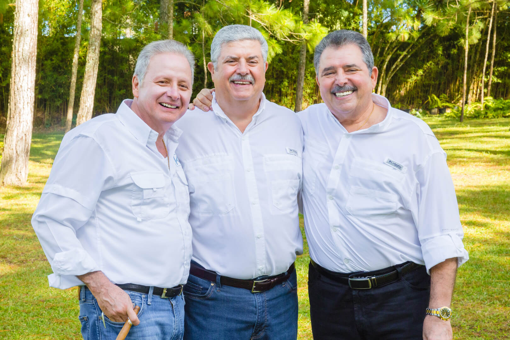 Luis, Eduardo y Schucry kafie | Fundación Kafie